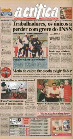 Jornal A Critica - Edição 1049 - 07 10 2001 by JORNAL A CRITICA - issuu 172d82b028e9a