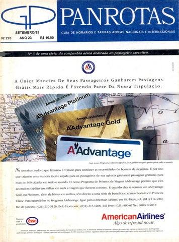17801e85b8bd1 Guia PANROTAS - Edição 270 - Setembro 1995 by PANROTAS Editora - issuu