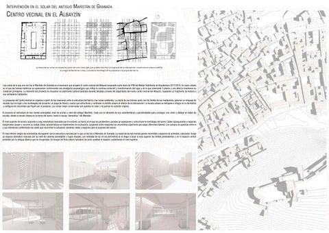 Page 4 of 02 _ Centro vecinal en el Albayzín, Granada