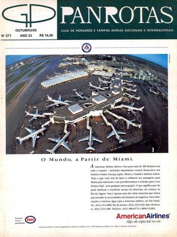 48547004e Guia PANROTAS - Edição 271 - Outubro/1995 by PANROTAS Editora - issuu