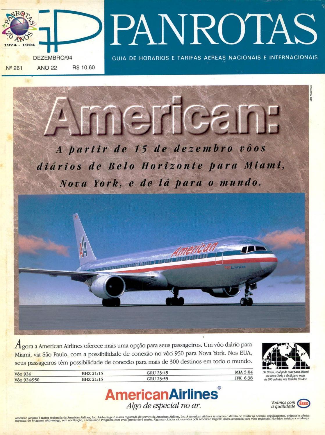 bb4e66c0648 Guia PANROTAS - Edição 261 - Dezembro 1994 by PANROTAS Editora - issuu