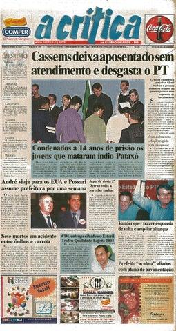 ccd5dfc76 Jornal A Critica - Edição 1053 - 04/11/2001 by JORNAL A CRITICA - issuu