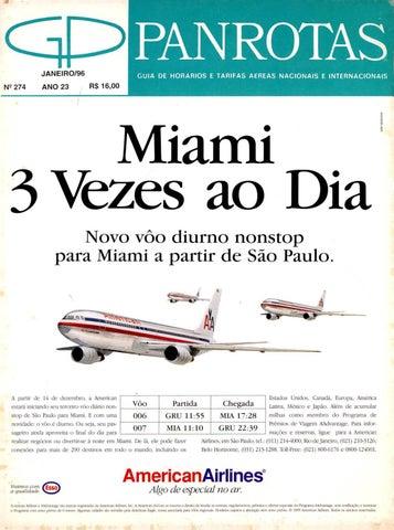461c3aa18fa10 Guia PANROTAS - Edição 274 - Janeiro 1996 by PANROTAS Editora - issuu