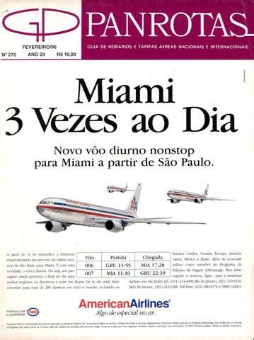 Guia PANROTAS - Edição 275 - Fevereiro 1996 by PANROTAS Editora - issuu bc56534126