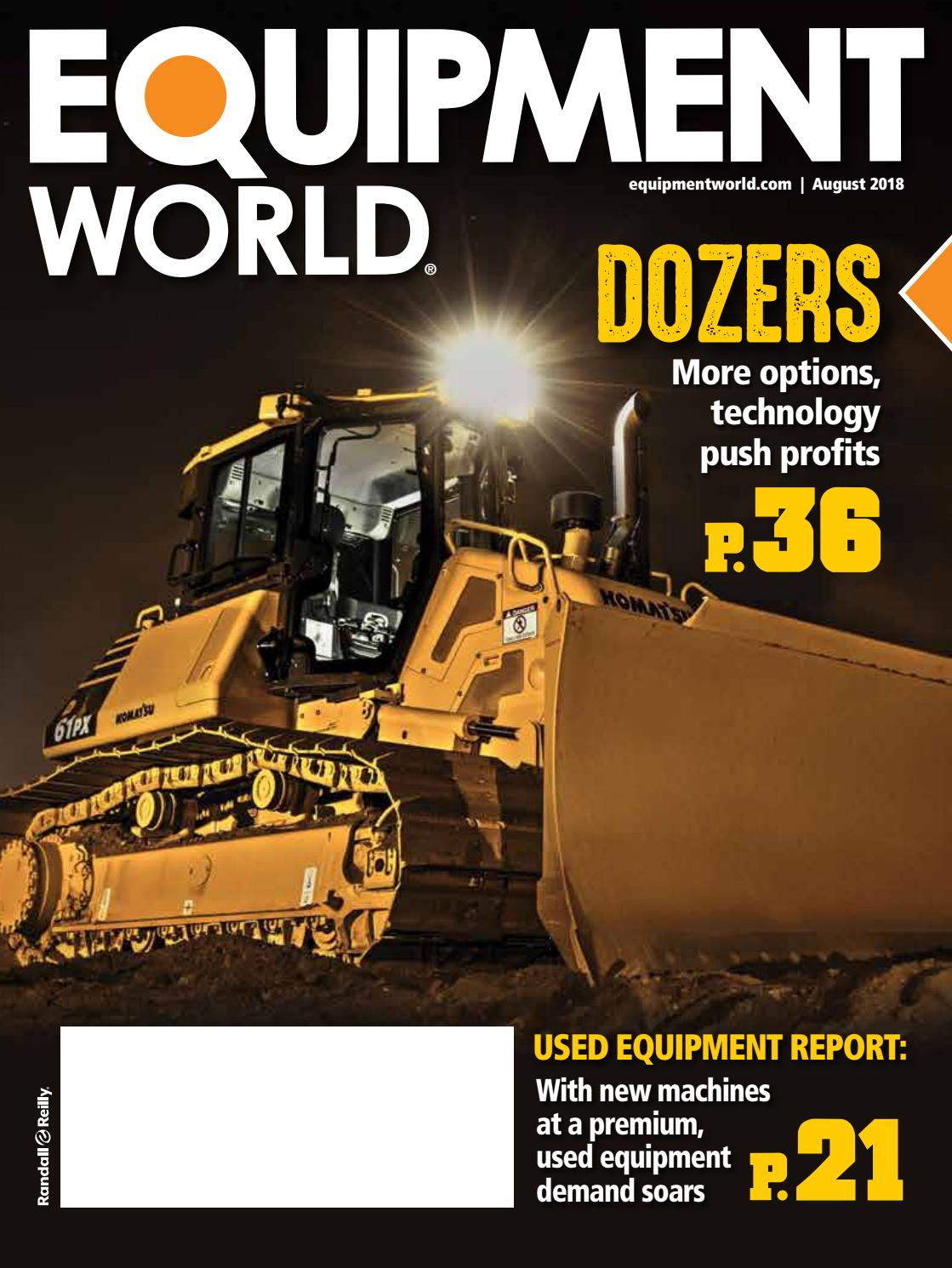Equipment World August 2018 by Tony Brock - issuu