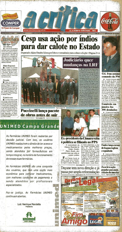0fe4bacdc Jornal A Critica - Edição 1067 - 24 02 2002 by JORNAL A CRITICA - issuu