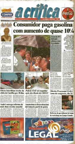 566974872a8c6 Jornal A Critica - Edição 1070 - 17 03 2002 by JORNAL A CRITICA - issuu