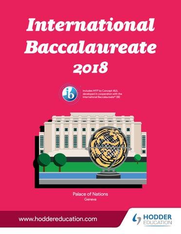 Catálogo Bachillerato Internacional (IB) Hodder Education - Vicens