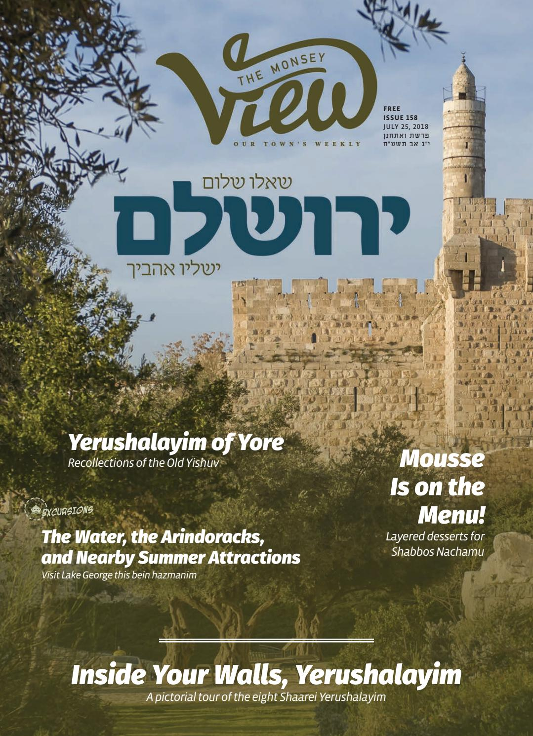 Issue 158 by The Monsey View - issuu