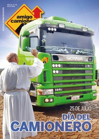 Amigo Camionero Julio 2018 Año 16 Nº 179 By Amigo