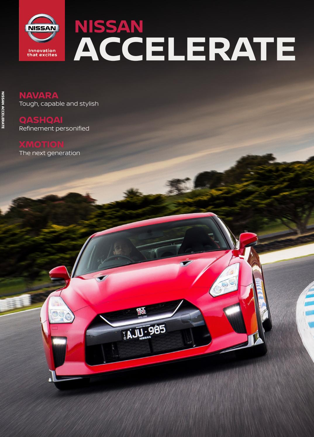NISSAN ACCELERATE ISSUE 1 by Citrus Media - issuu