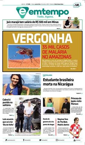 Em Tempo - 25 de Julho de 2018 by Amazonas Em Tempo - issuu 975c60a5bf25f