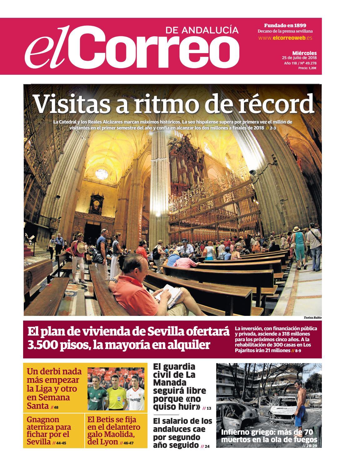 1e10a26a3 25.07.2018 El Correo de Andalucía by EL CORREO DE ANDALUCÍA S.L. - issuu