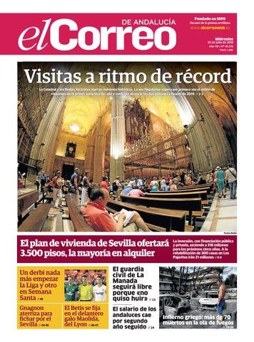 7981514c5d9b1 25.07.2018 El Correo de Andalucía by EL CORREO DE ANDALUCÍA S.L. - issuu