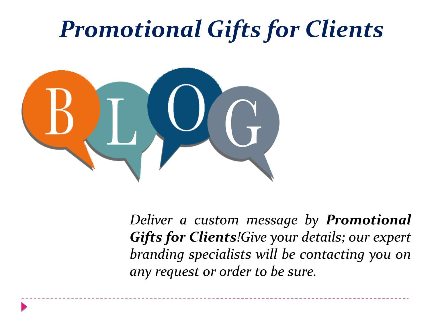 Promotional Gifts for Clients by promowebsiteonline - issuu