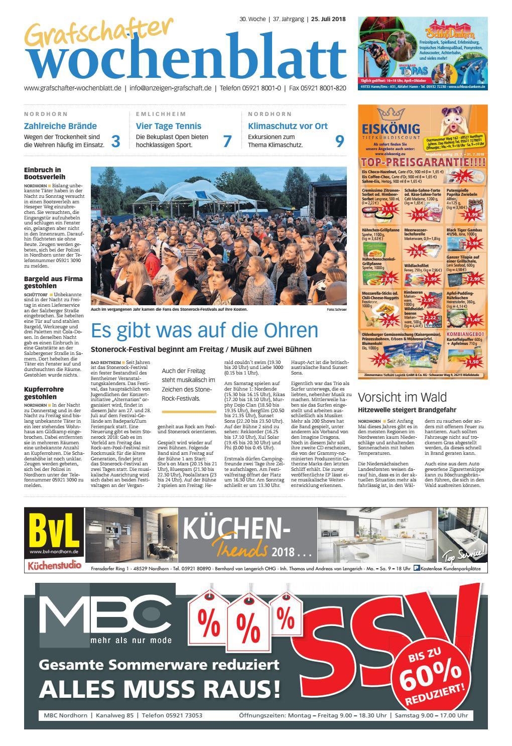 Grafschafter Wochenblatt_25-07-2018 by Grafschafter Nachrichten - issuu