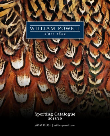 149813c46e608 William Powell - Sporting Catalogue 2018 19 by William Powell - issuu