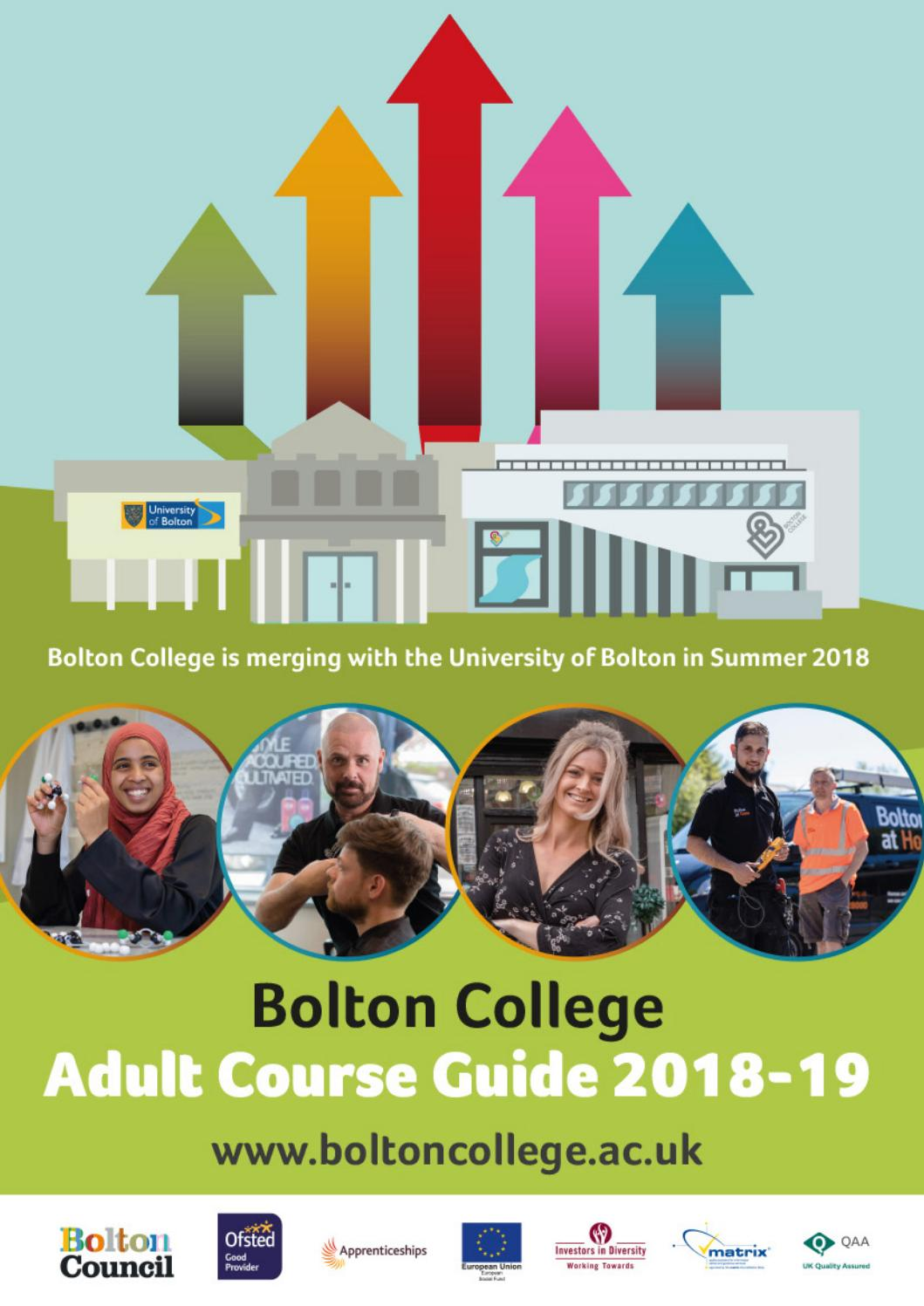 Adult Summer Course Guide 2018 by Bolton College - issuu