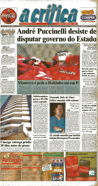 Jornal A Critica - Edição 1072 - 31 03 2002 by JORNAL A CRITICA - issuu d09ddb917e