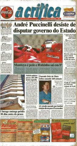 7a1a3857273a28 Jornal A Critica - Edição 1072 - 31/03/2002 by JORNAL A CRITICA - issuu
