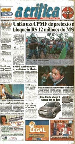 d04bd0a8945b4 Jornal A Critica - Edição 1077 - 05 05 2002 by JORNAL A CRITICA - issuu