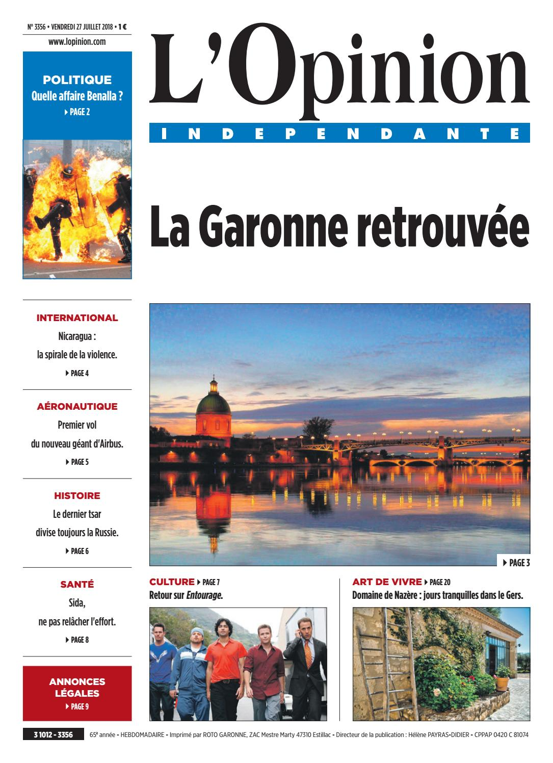 Cote Flammes Villefranche De Lauragais 3356l'opinion indépendante - issuu