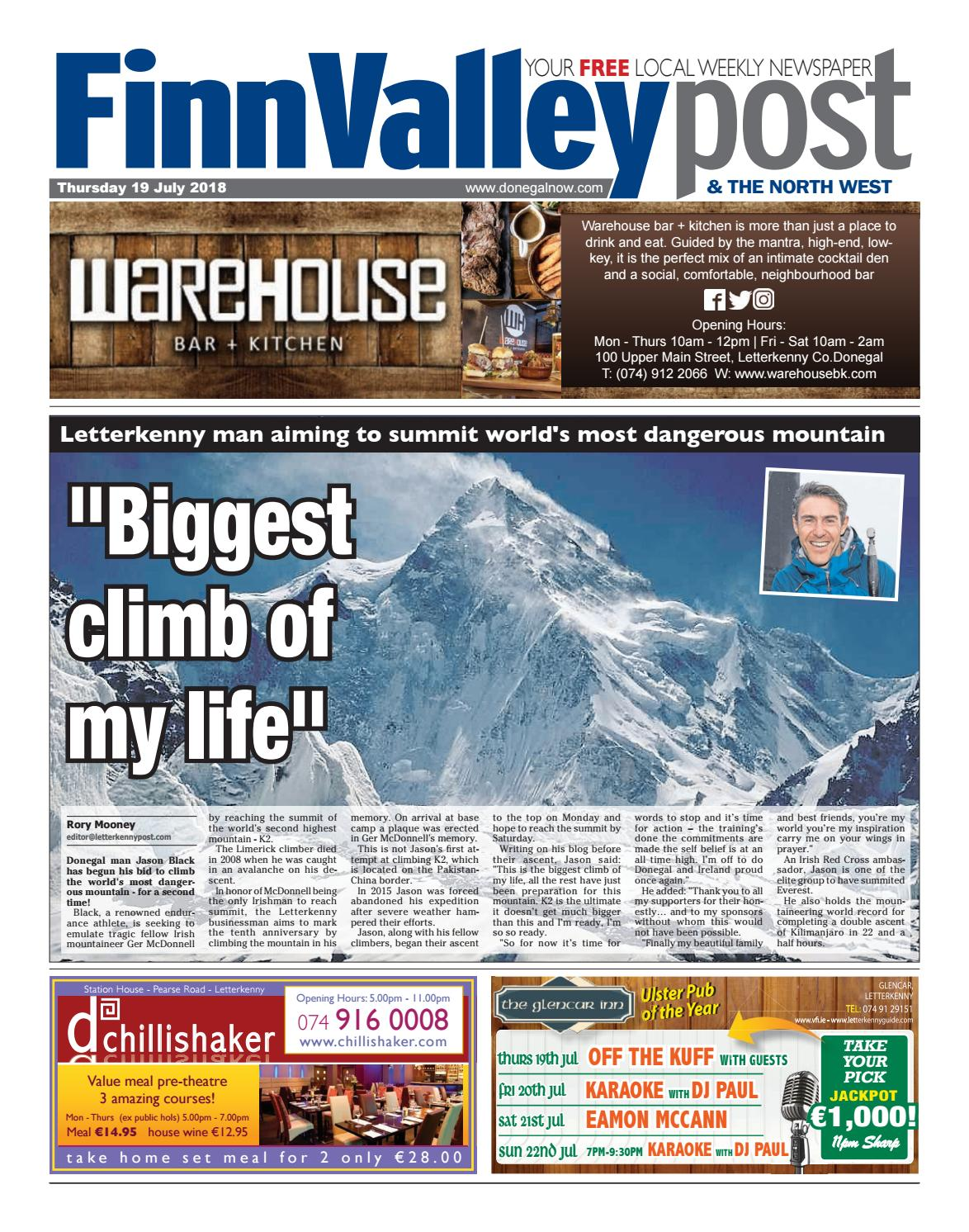 Finn Valley Post - Thursday 19 July 2018 by River Media Newspapers ...