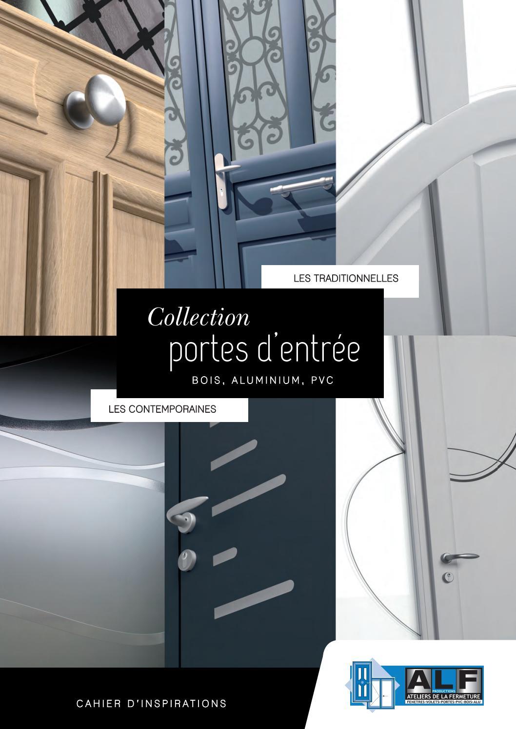 Comment Peindre Une Porte En Pvc catalogue portes d'entrée alfforlis - issuu