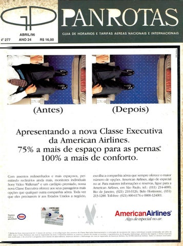 17e3e8dada9 Guia PANROTAS - Edição 277 - Abril 1996 by PANROTAS Editora - issuu