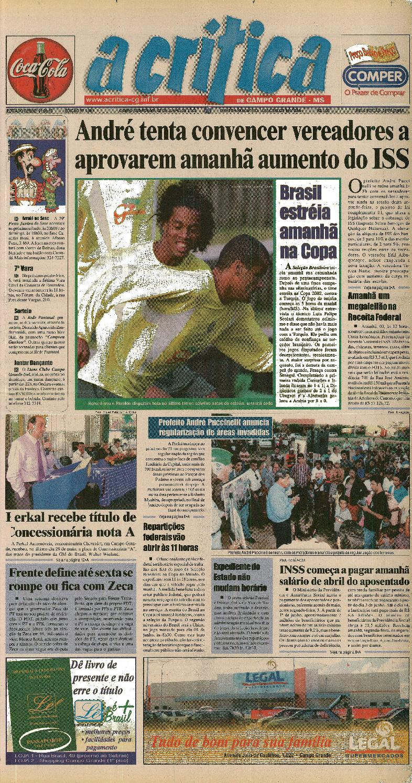 0305150d2fa44 Jornal A Critica - Edição 1081 - 02 06 2002 by JORNAL A CRITICA - issuu