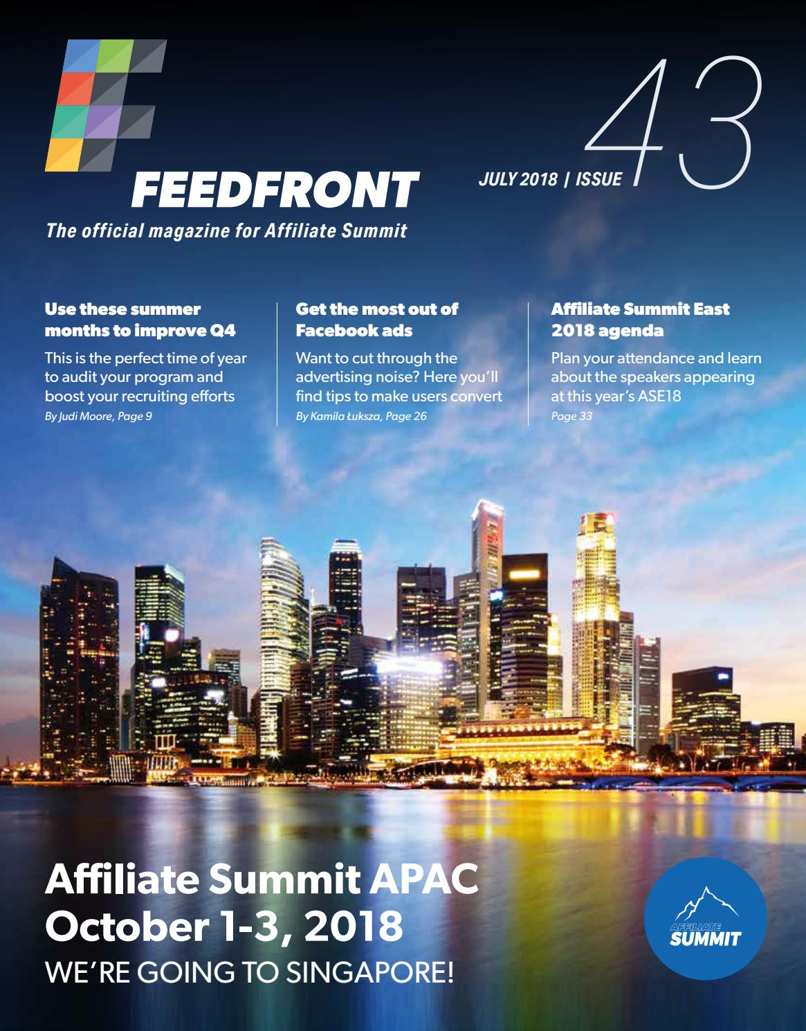 FeedFront Magazine issue 43 by Affiliate Summit - issuu