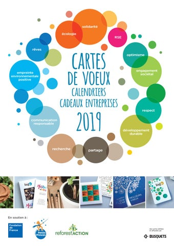 f2bf3aae3c7a02 Cartes de Voeux écologiques 2019 pour entreprises. by BusquetsWorld ...