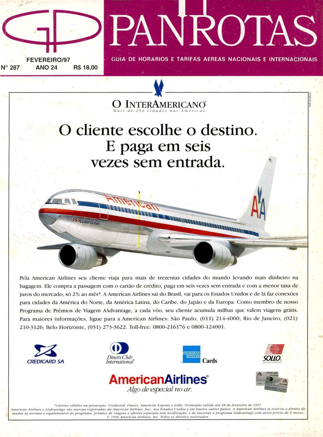 4a060c2619a70 Guia PANROTAS - Edição 287 - Fevereiro 1997 by PANROTAS Editora - issuu