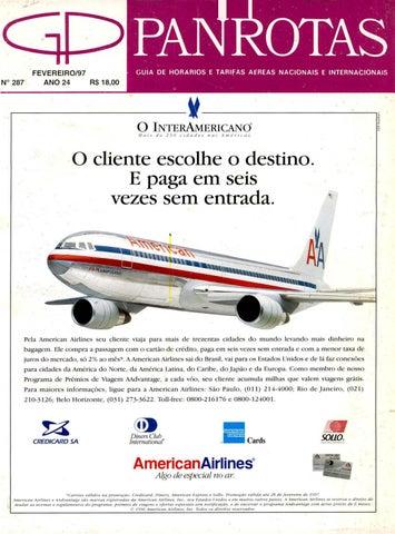 b314baa6a6892 Guia PANROTAS - Edição 287 - Fevereiro 1997 by PANROTAS Editora - issuu
