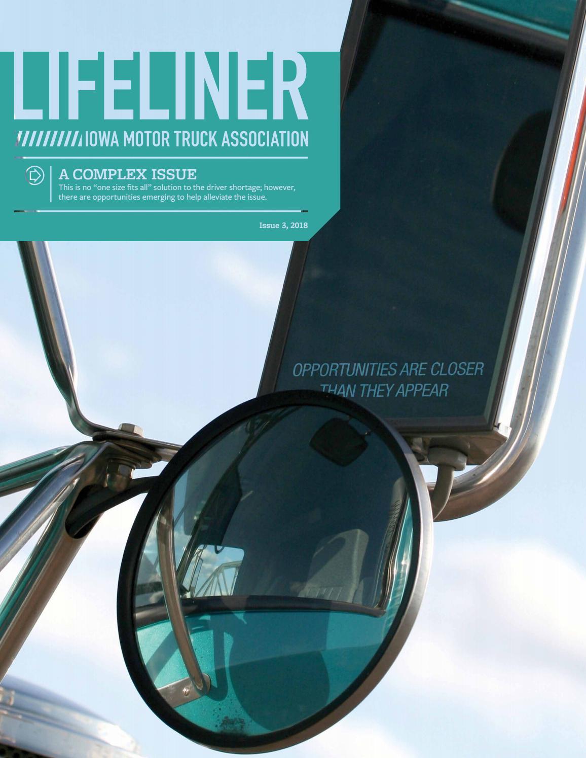 0f10956da 2018 Lifeliner Magazine (Issue 3) by Iowa Motor Truck Association ...