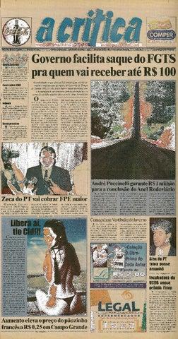 4562cb42534c8 Jornal A Critica - Edição 1087 - 14 07 2002 by JORNAL A CRITICA - issuu