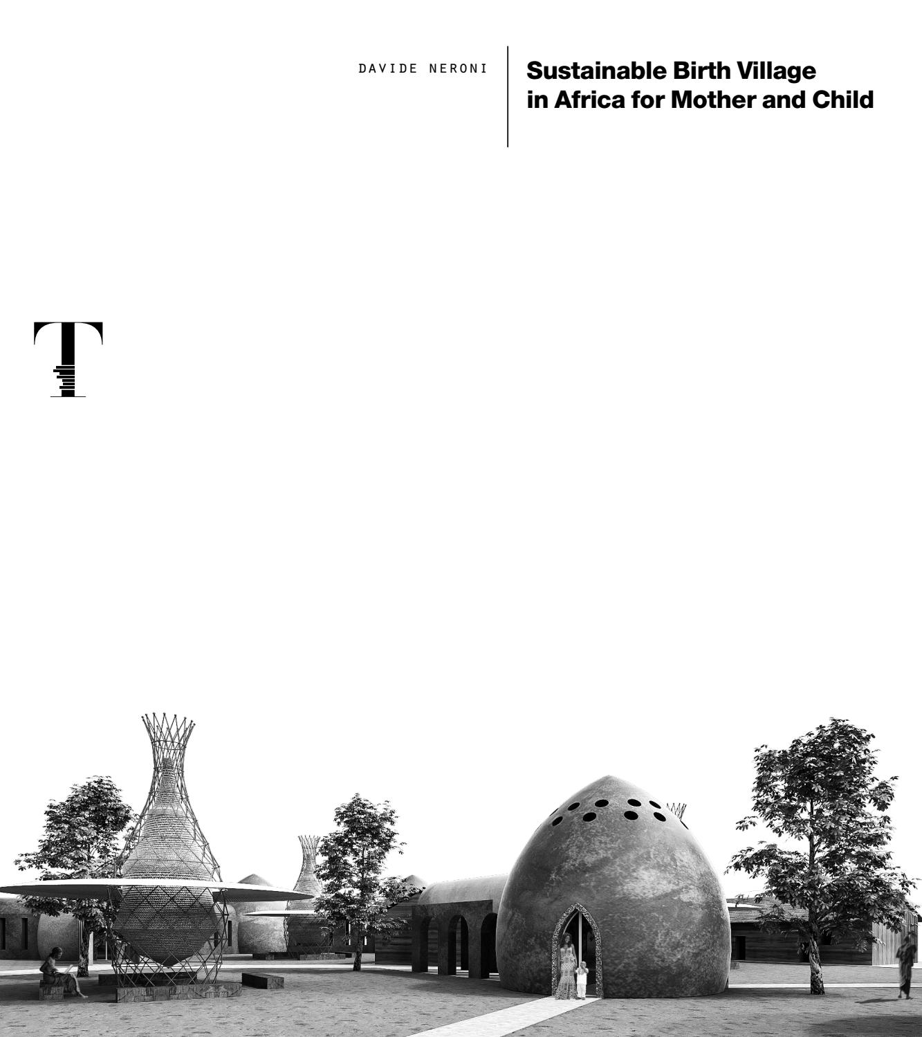 Sustainable Birth Village in Africa for Mother and Child by