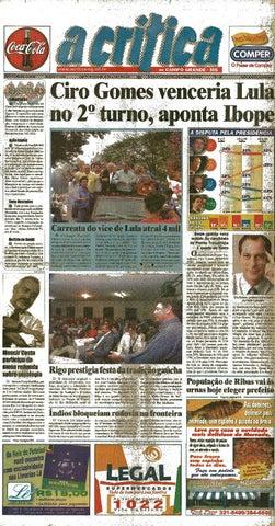 Jornal A Critica - Edição 1089 - 28 07 2002 by JORNAL A CRITICA - issuu 1f5aca5a45cf0