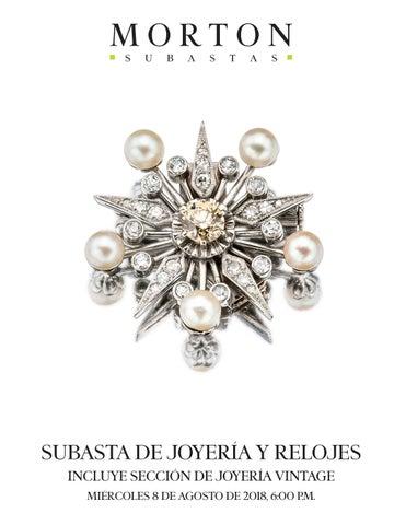 48fd3fbddc6d SUBASTA DE JOYERÍA Y RELOJES INCLUYE SECCIÓN DE JOYERÍA VINTAGE MIÉRCOLES 8  DE AGOSTO DE 2018