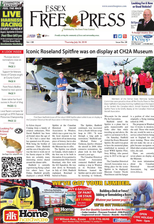 Essex Free Press - July 26 041b38a7a5