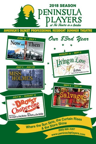 The Drowsy Chaperone Playbill By Penplayers Issuu