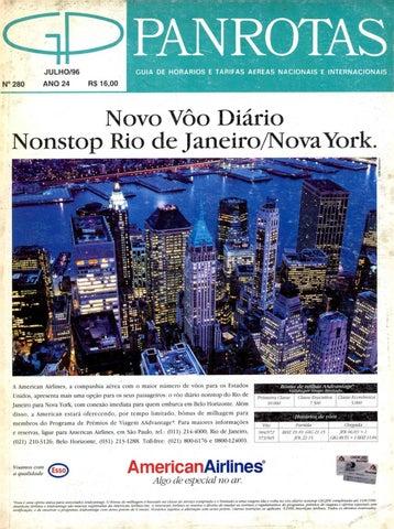 4af724e668af5 Guia PANROTAS - Edição 280 - Julho 1996 by PANROTAS Editora - issuu
