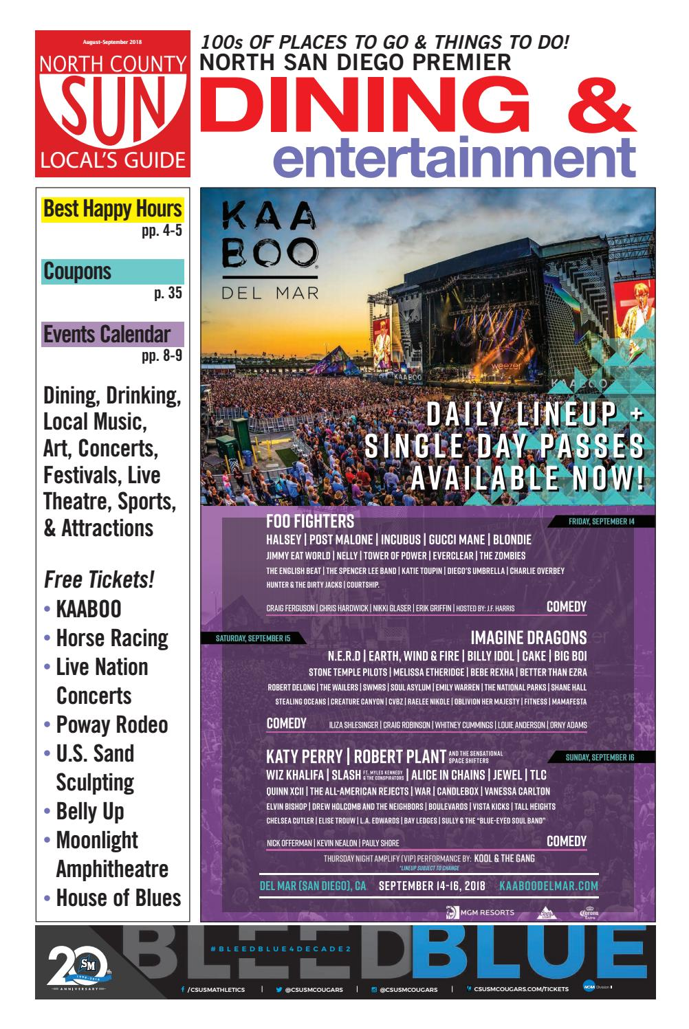 North County Sun - Local's Guide by Andy Lee - issuu