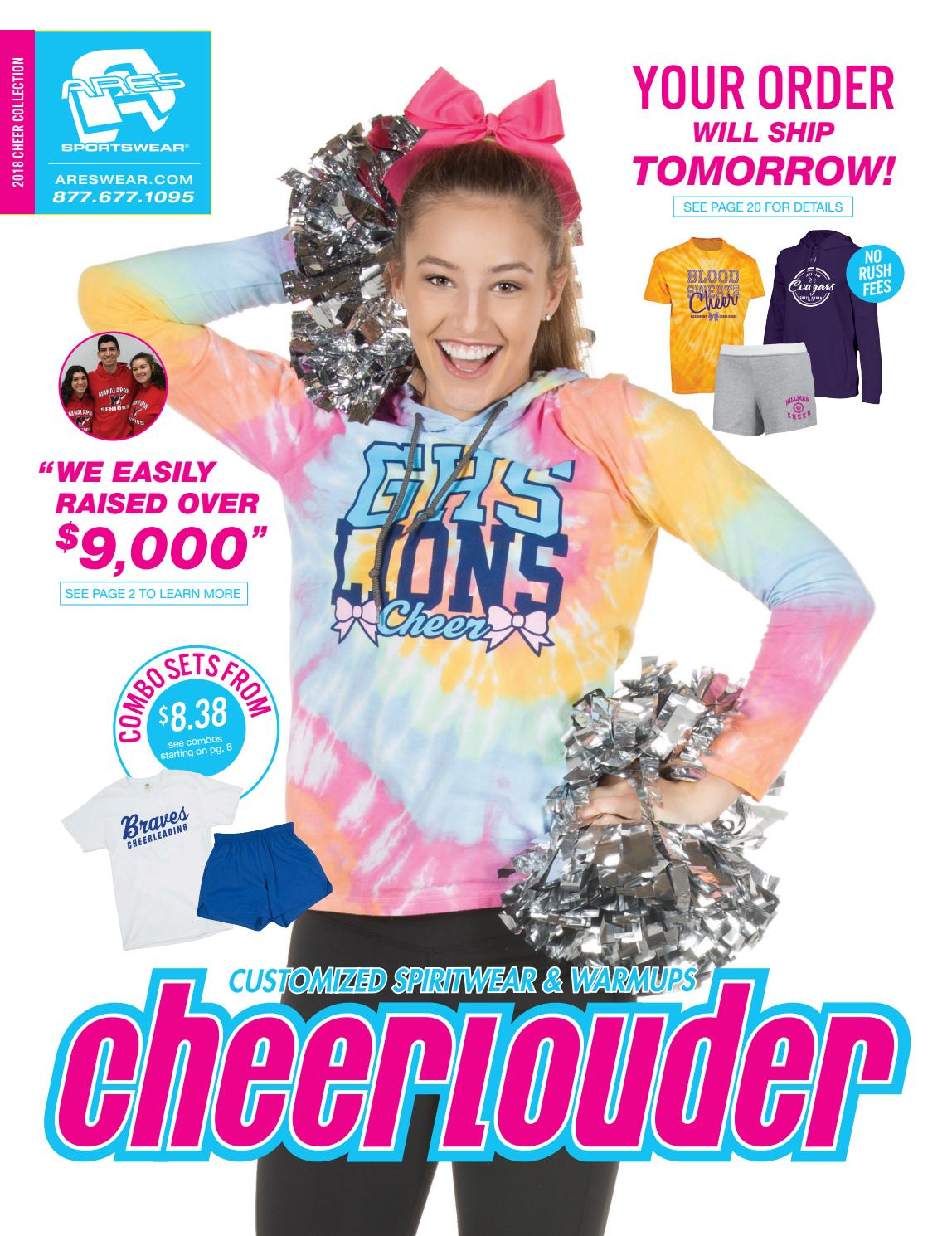 9be6f85db9c0 2018 Ares Sportswear Cheerlouder Catalog by Ares Sportswear - issuu