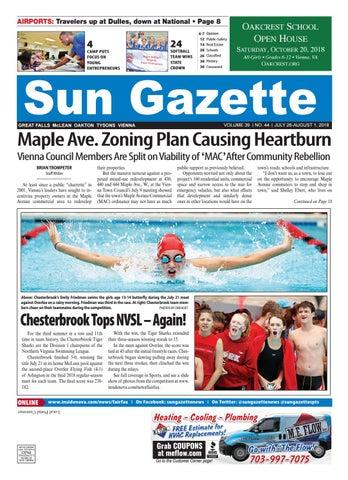 Sun Gazette Fairifax, July 26, 2018 by InsideNoVa - issuu