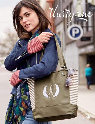 Thirty-One City Chic Tote Purse Dainty Dot Pebble Gray BRAND NEW