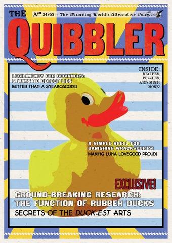 The Quibbler - Summer 2018 by Hogwarts Quibbler - issuu
