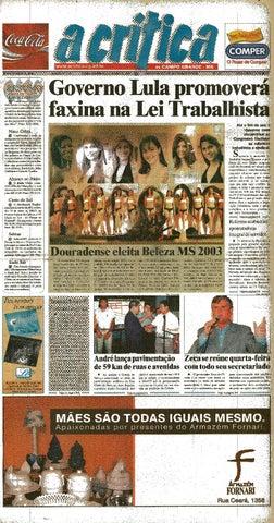 aa7390a5ac5a0 Jornal A Critica - Edição 1127 - 04 05 2003 by JORNAL A CRITICA - issuu