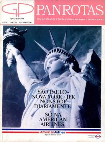 2fd3fd225029b Guia PANROTAS - Edição 239 - Fevereiro 1993 by PANROTAS Editora - issuu