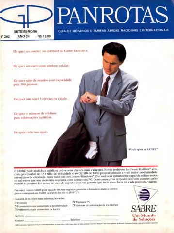 79ea183e5c8d2 Guia PANROTAS - Edição 282 - Setembro 1996 by PANROTAS Editora - issuu